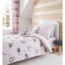 Catherine Lansfield Woodland Friends Duvet Set