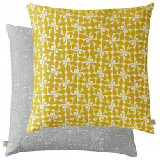 Orla Kiely Acorn Cup Woven Dandelion Feather Filled Cushion