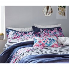 Joules Cottage Garden Border Stripe Duvet Cover