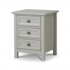 Julian Bowen New Haven 3 Drawer Bedside