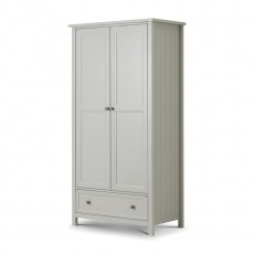 Julian Bowen New Haven 2 Door Combination Wardrobe