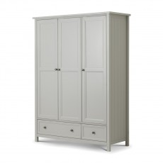 Julian Bowen New Haven 3 Door Combination Wardrobe