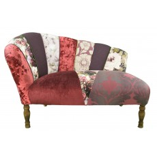 Quirky Harlequin Chaise Lounge 3