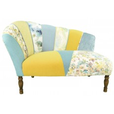 Quirky Harlequin Chaise Lounge 4