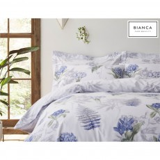 Bianca Botanical Cotton Print Duvet Cover Set