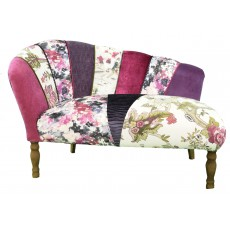 Quirky Harlequin Chaise Lounge 5