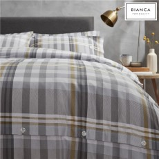 Bianca Campbell Brushed Cotton Duvet Cover Set