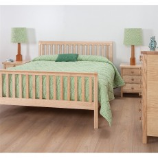 Cotswold Caners Notgrove 318V Bedstead with Vertical Rails HFE