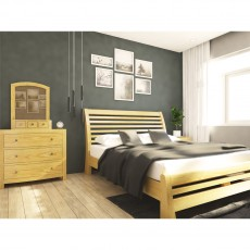 Our Furniture Avignon Sleigh Bed Low Foot End (Slatted)