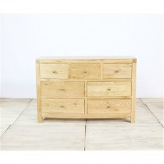 Our Furniture Avignon 3 + 4 Drawer Wide Chest