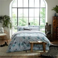 Fat Face Oriental Crane and Palm Duvet Set