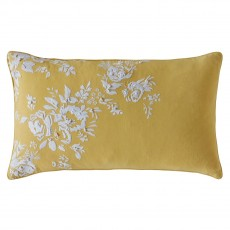 Cath Kidston Vintage Bunch Yellow Cushion