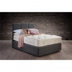 Hypnos Wool Origins 10 Deep Open Coil Sprung Edge Divan Set