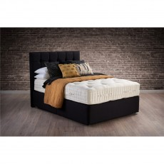 Hypnos Wool Origins 8 Deep Open Coil Sprung Edge Divan Set
