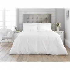 The Lyndon Company Crosses Grey Duvet Set