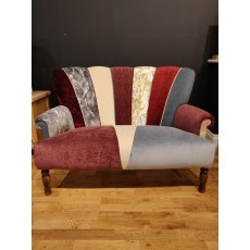 Quirky Harlequin Love Seat 28
