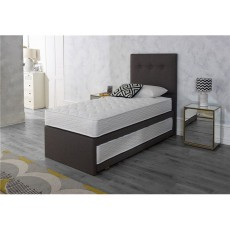 Highgrove Tandem Guest Bed with 1 x Open Coil mattress and 1 x Pocket Sprung mattress