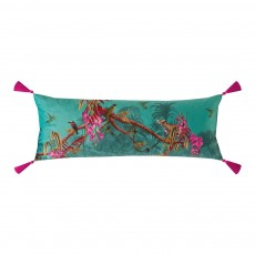 Ted Baker Hibiscus Jade Rectangular Polyester Filled Cushion