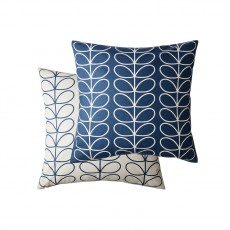 Orla Kiely Small Linear Stem Whale Feather Filled Cushion