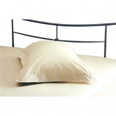 Belledorm 200TC Cotton/Polyester Cream Oxford Pillowcase