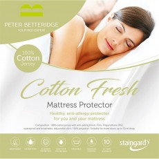 Peter Betteridge Protectors Cotton Fresh Mattress Protector