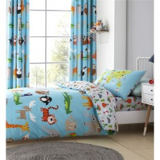 Catherine Lansfield Animal Adventures Single Duvet Set