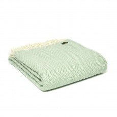 Tweedmill Pure New Wool Beehive Throw Ocean