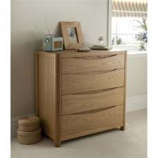 Winsor Furniture Ltd. Tempo Bedroom Collection 4 Drawer Chest
